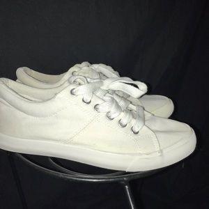 👟Rocket Dog lace up white tennis shoes size 7